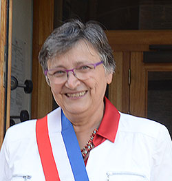 Photo de Madame le Maire de Lux (31)