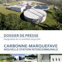 Nouvelle station d'épuration Carbonne-Marquefave