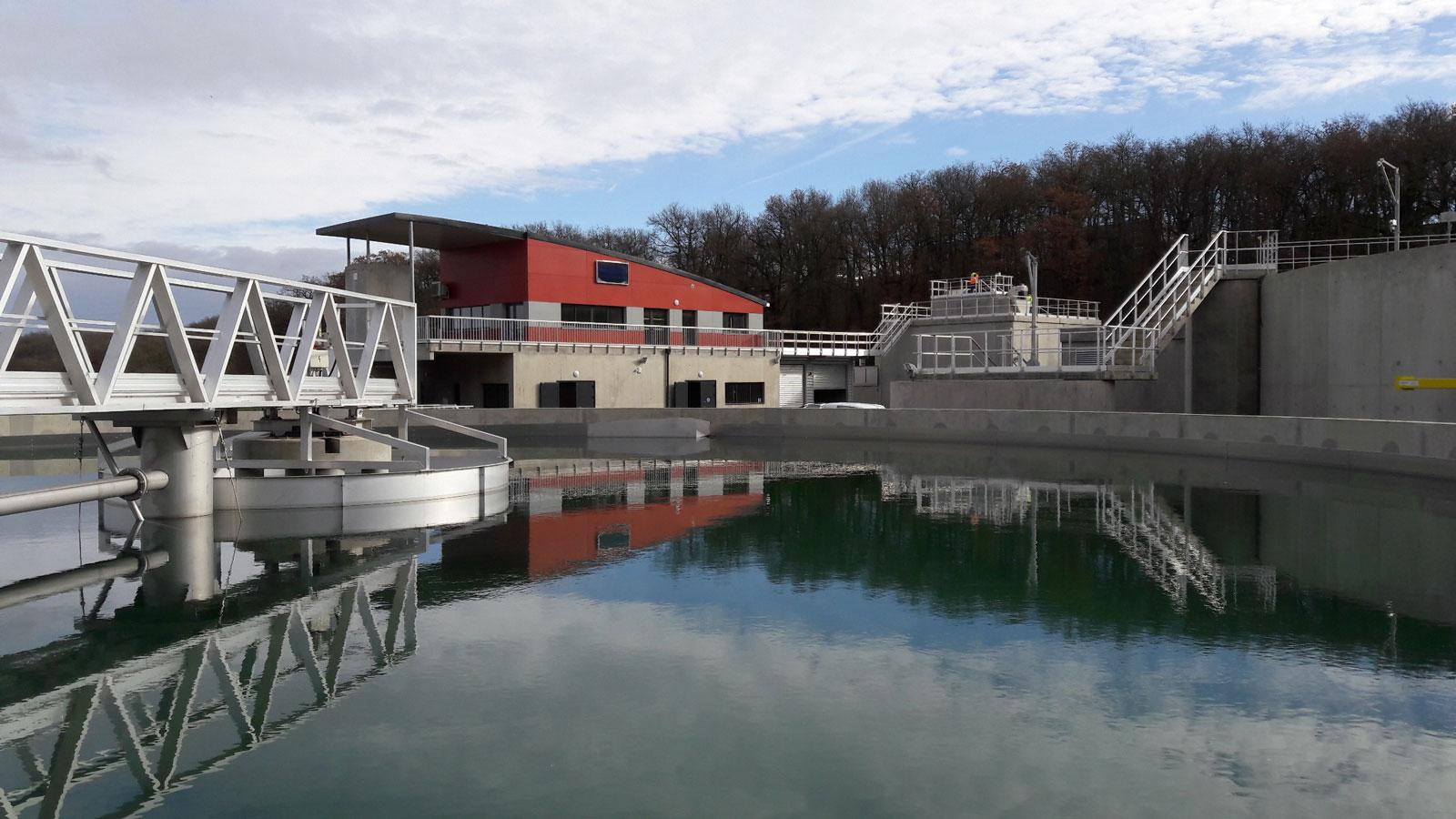 Station d'épuration du Défi Aussonnelle gérée par Réseau31