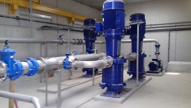 Sécurisation du transport d'eau potable à Launac