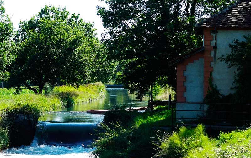 rivière grand cycle de l'eau